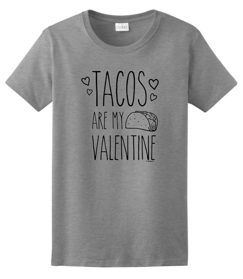 Taco Valentine Gifts Tacos Are My Valentine Taco T Shirt 5881