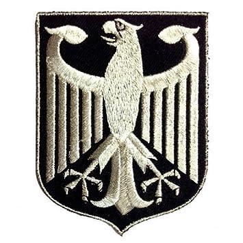 Amazon.com: VEGASBEE GERMANY EAGLE GERMAN COAT OF ARMS SILVER ...