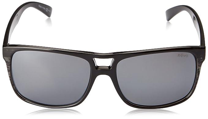 f9e06d9900 Amazon.com  Revo Holsby RE 1019 01 GY Polarized Square Sunglasses ...