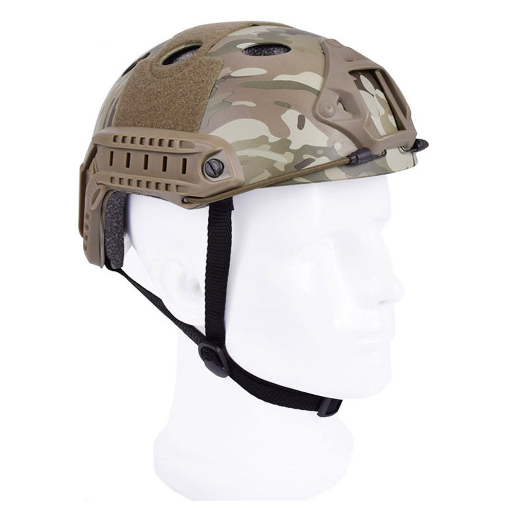EMERSONGEAR PJ Type Fast Helmet Tactical Protective Helmet for Airsoft Paintball Hunting Cycling Motorcycle MC by EMERSONGEAR