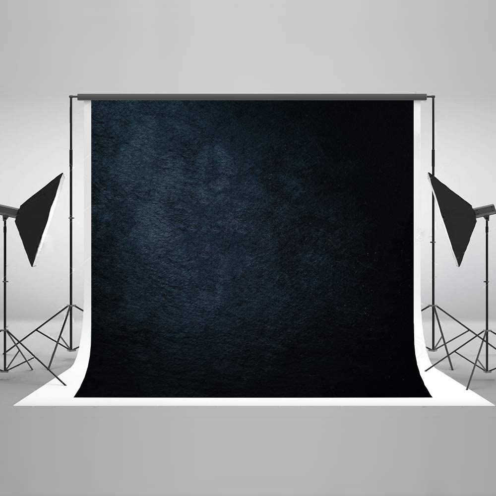 KateHome PHOTOSTUDIOS 2,2x1,5m Abstrait Noir Fond Cosmique Chiffon Microfiber Gradient Toile de Fond Moderne Ciel /Étoil/é Portrait Photographie Fond