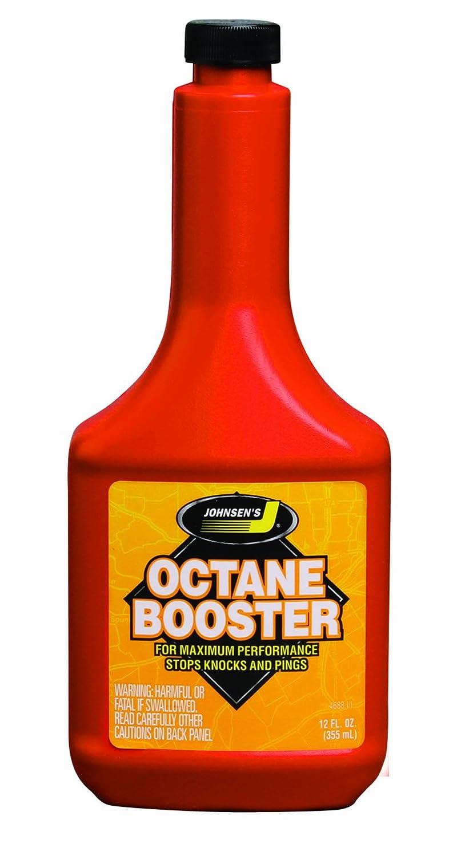 Johnsen's 4688-12PK Octane Booster - 12 oz., (Pack of 12) Johnsen' s