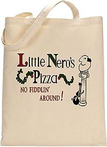 Home Alone Little Nero's Pizza Movie Fan Custom Made Tote Bag