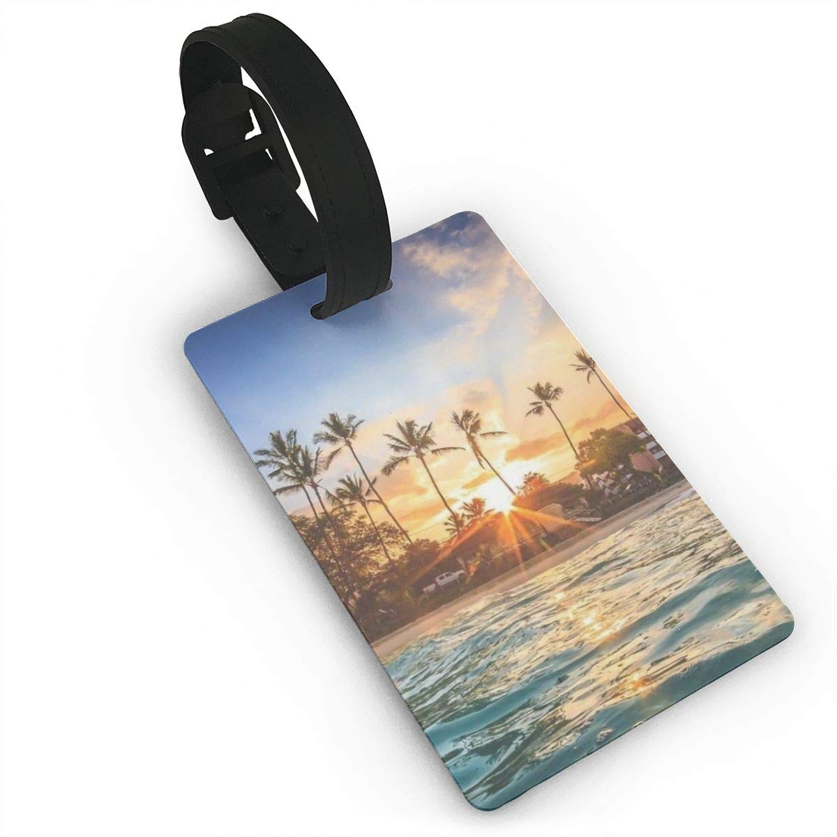 2 Pack Luggage Tags Beaches Handbag Tag For Travel Tags Accessories