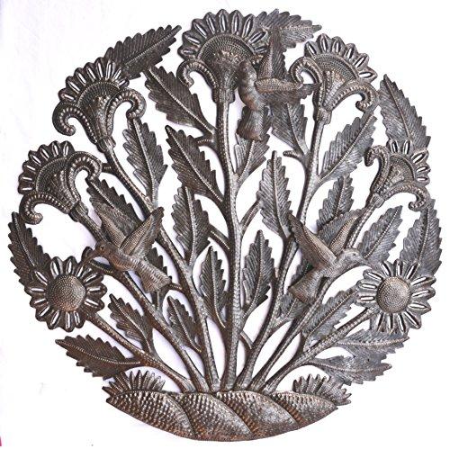 it's cactus - metal art haiti Outdoor Plaques and Wall Art, Hummingbirds,Flowers, Haitian Metal 22