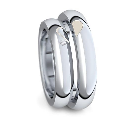 X & P Nette Rose Gold Silber Große Rot Weiß Kristall Ringe Für Frauen Engagement Hochzeit Mode Zirkonia Frauen Ring Schmuck Schmuck & Zubehör