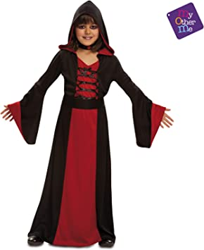 My Other Me - Halloween Bruja Disfraz, Color Rojo, 5-6 años, Fun ...