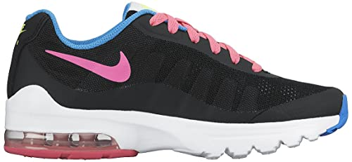 purchase cheap a3525 13249 NIKE AIR Max Invigor GS Running Sneakers Black Pink 749575 001 SZ 6Y