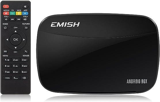 Mini Kitty Smart TV Box Andriod 4.4 (Quad Core) Kodi / XBMC 1080P 3D Media Player Reproductor HDMI WiFi Compatible con Netflix Youtube Skype: Amazon.es: Electrónica