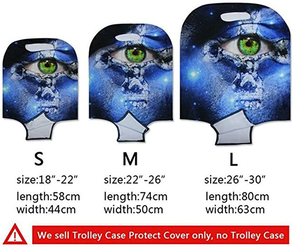 CHAQLIN Owl Travel Luggage Cover Elastic Suitcase Protector for 18//20//22//24//26//28//30 Inch Case