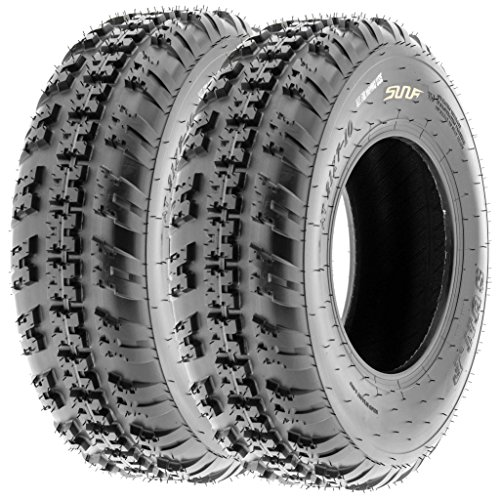 SunF All Terrain ATV UTV Tires 6 PR 20x6-10 20x6x10 A031, [Set of 2] by SunF