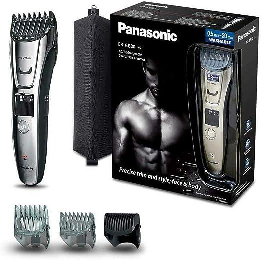 Panasonic ER-GB80-S503 - Cortapelos Impermeable con Peine-Guía 3 ...