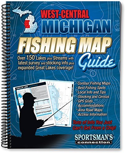 West Central Michigan Fishing Map Guide (Sportsman's Connection) by Sportsman's Connection (2013-04-01)