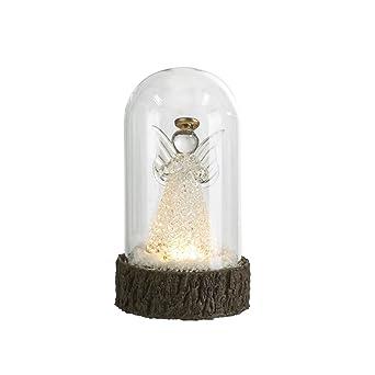 Weihnachtsbeleuchtung Mit Batteriebetrieb.Schneekugel Mit Led Beleuchtung Tischlampe Weihnachtsbeleuchtung