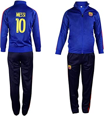 Fan Kitbag Barcelona Messi # 10 - Chándal de fútbol para niños ...