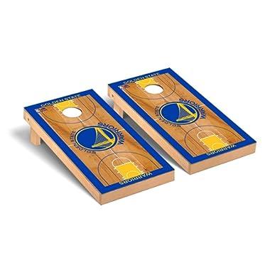 Victory Tailgate NBA Cornhole Board Set Game Basketball Court Version