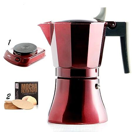 DWW Máquina de café Manual de Grasa Italiana para el ...
