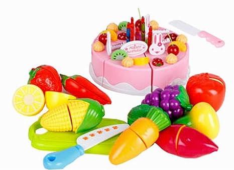 El Juego Divertido Con Alimentos Cocina Para Niños Más De 3Years, Frutas Y  Verduras U0026