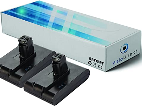 Lote de 2 baterías para Dyson DC44 Animal Pro aspirador limpiador ...