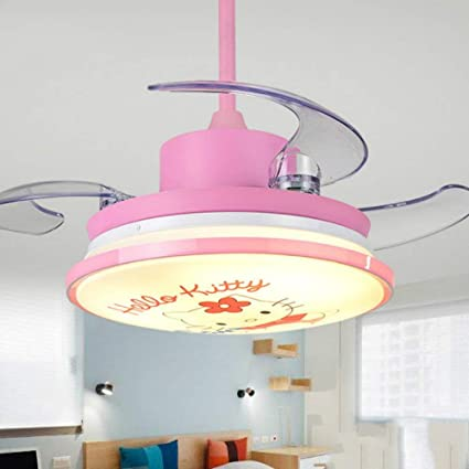 Lighting Groups Modern Invisible Children Fan Light 36 Inch Kid ...