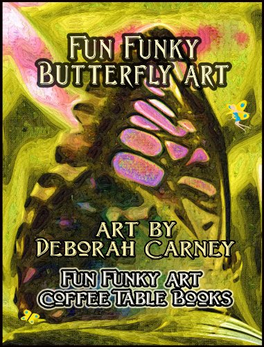 Fun Funky Butterfly Art