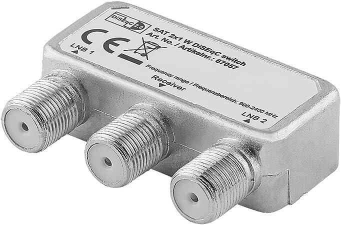 Digital Sat Schalter Umschalter Für Satelliten Anlagen Elektronik