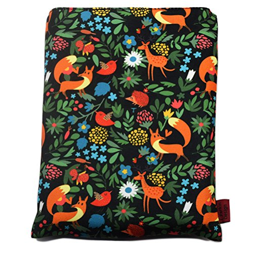- Book Sleeve Fox Book Cover Medium Book Sleeves Teen Gift (Medium)