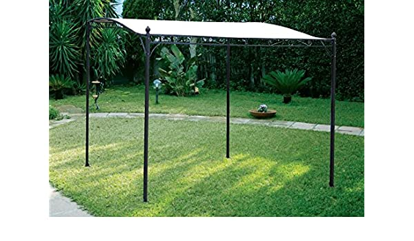 Ciesse Cenador Mod.Laura Estructura Metal tamaño 2.5 x 3 Porche Onda Toalla poliéster: Amazon.es: Jardín