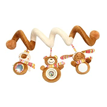 D DOLITY Baby Activity Spiral Toy For Car Seat Pushchair Pram Stroller Cot