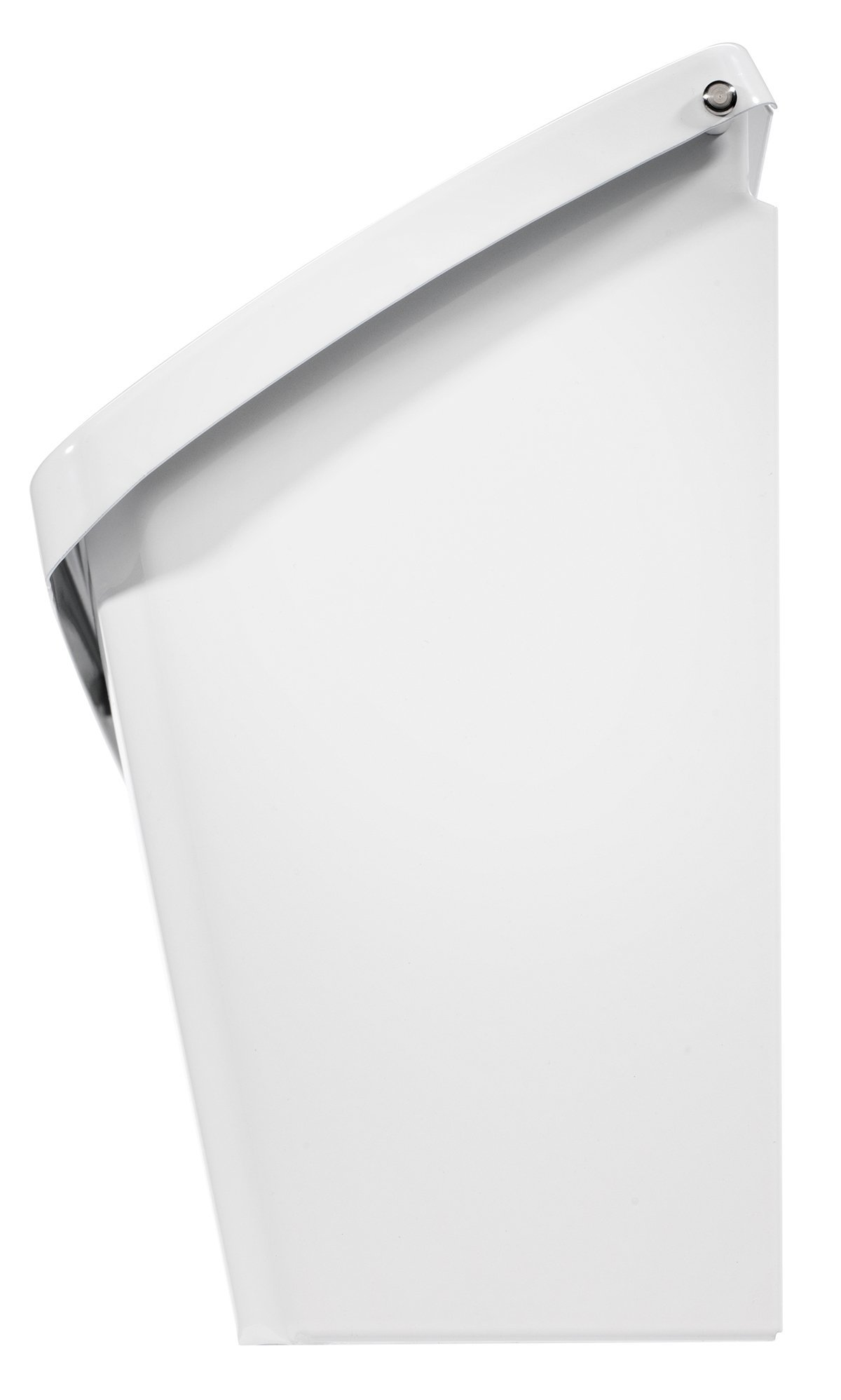Architectural Mailboxes 2689W-10 Wayland Wallmount Mailbox, Small, White