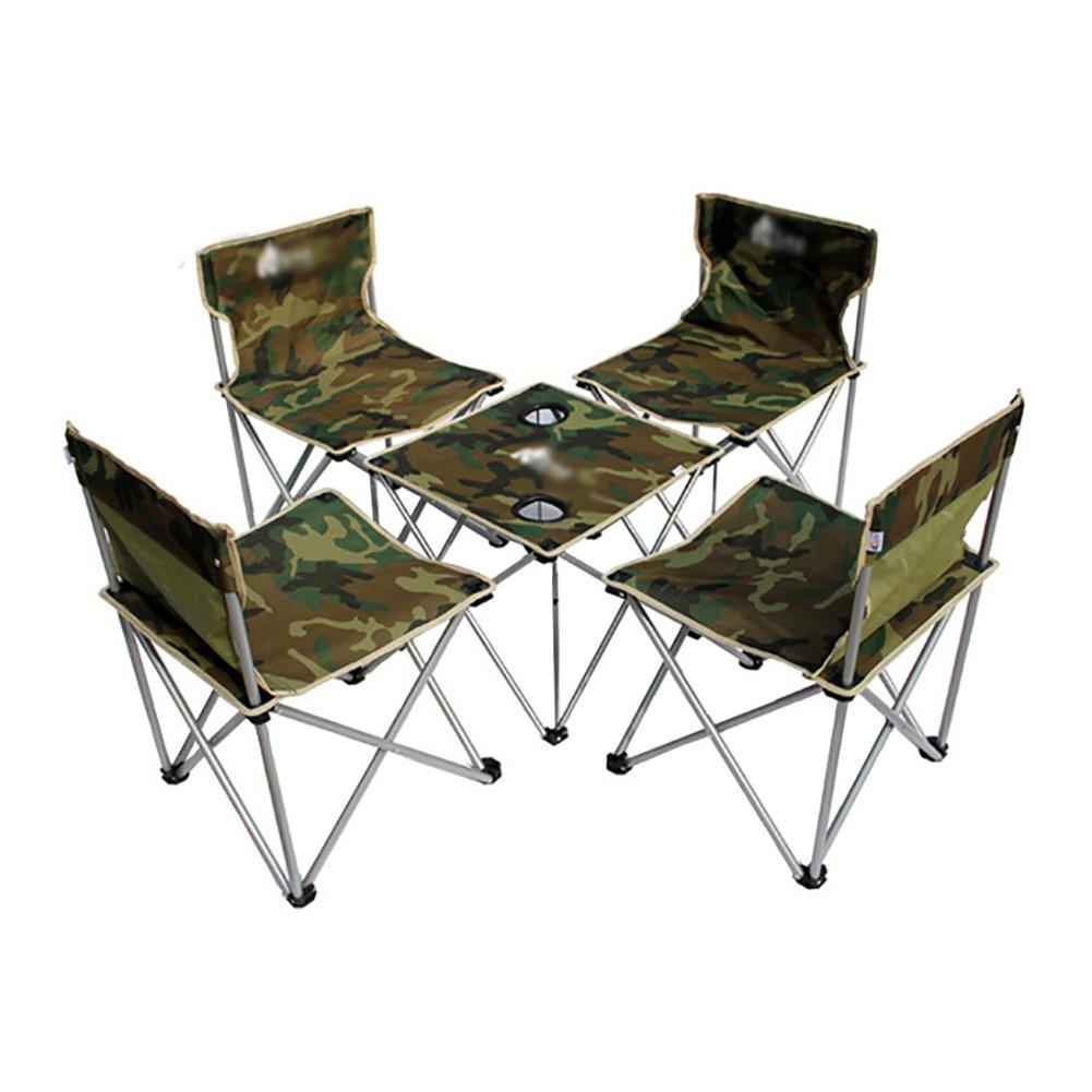 Tragbare Klapp Freizeit Tisch Stuhl Kombination Outdoor Tisch Und Stuhl Set Camping Stuhl Selbstfahrende Freizeit Strand Stuhl