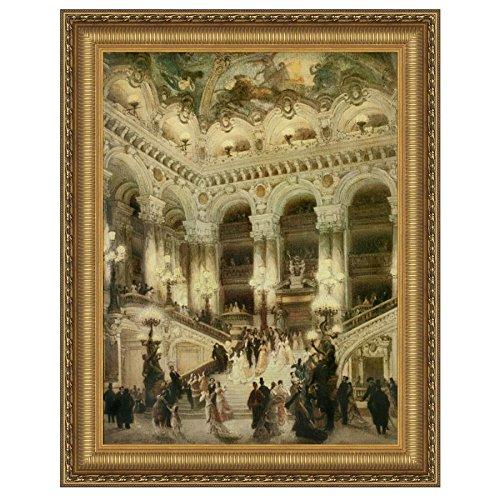 Design Toscano Le Couloir de l'Opera Canvas Replica Painting: Grande by Design Toscano