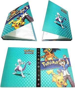 Pokemon Album Cartella Raccoglitore Libro 30 Pagine 240 capacit/à di Carte Pokemon Carte Album Funmo Porta Carte Pokemon Album di Pokemon Trading Card Album
