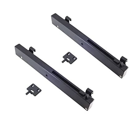 WINSOON Sliding Barn Wooden Door Hardware System Accessories 2PC Soft Close Mechanism Set with Screws