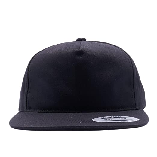 b94c2543c20 Acorn Yupoong Classic 6502 Unstructured 5 Panel Snapback Hats Vintage  Baseball Caps (Black)