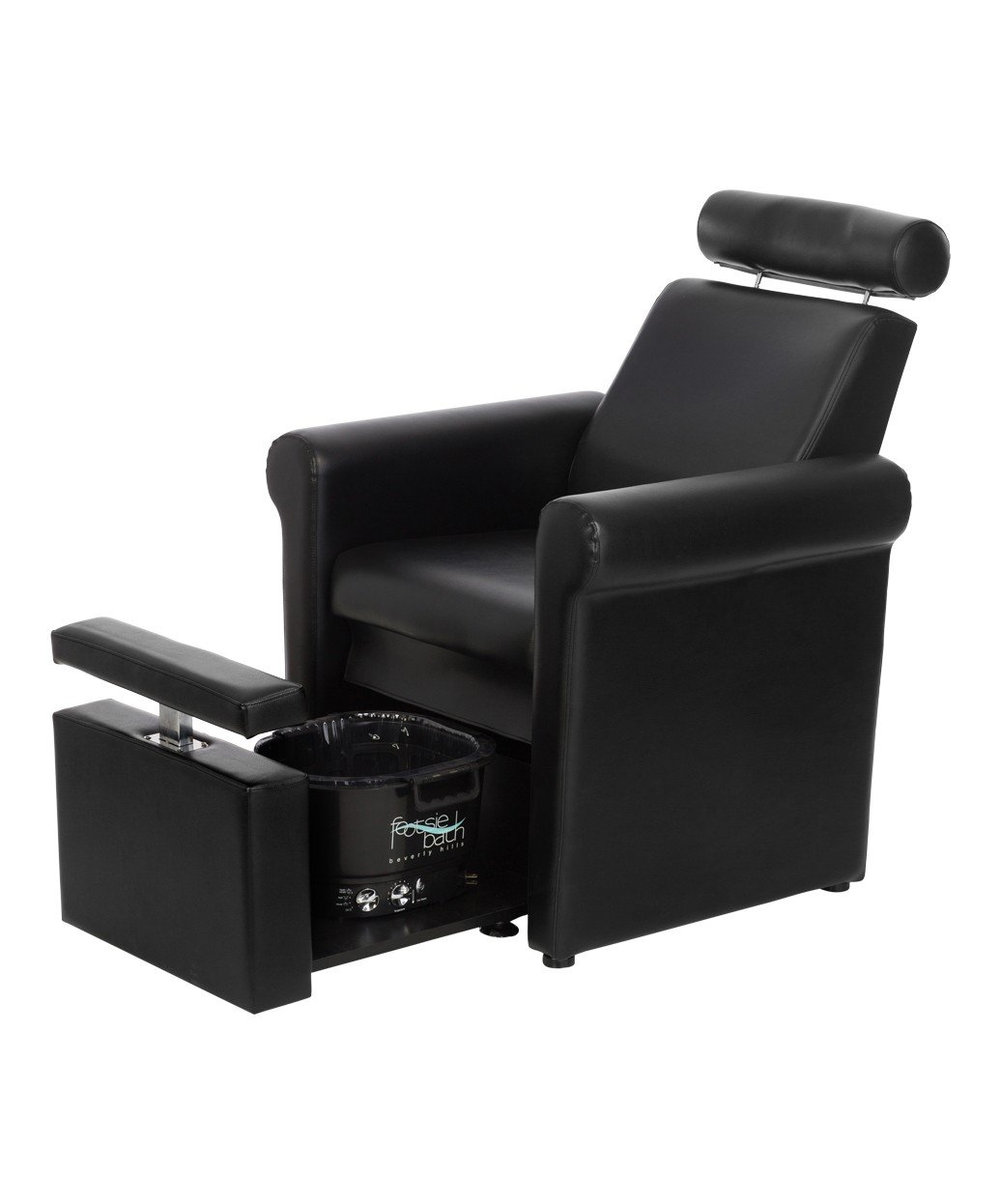 BR Beauty Mona Lisa Pedicure Chair, Black