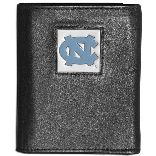 Tar Heels Leather Tri-Fold Wallet ()