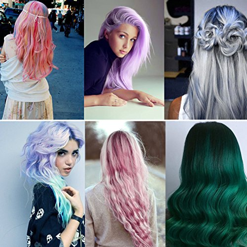 kyerivs hair chalk pens 12 colors temporary hair chalkeasy to useworks on all color