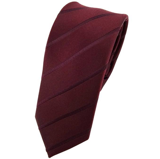 ohne Markenname corbata de seda de diseño estrecho - marrón ...