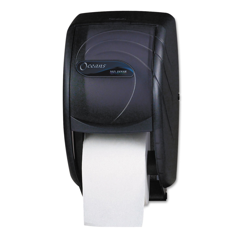 SJMR3590TBK - San Jamar Duett Toilet Tissue Dispenser