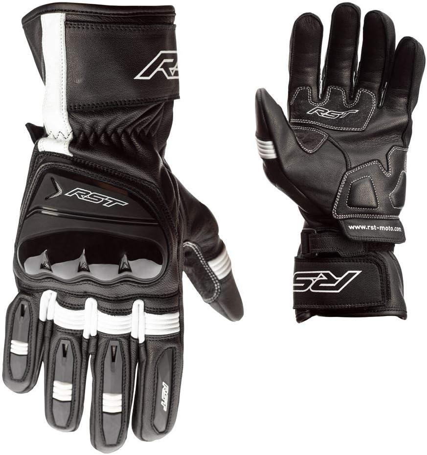 RST Pilot CE Black Leather Amara Motorcycle Glove Size 09