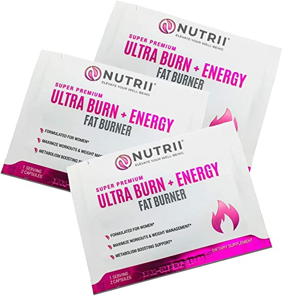 Ultra Burn Energy – 50 Sample Travel Packs 100 Capsules Total