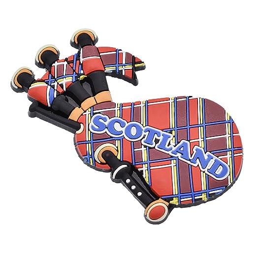 YNuth Imán para Nevera Escocia en Forma de Gaita: Amazon.es: Hogar