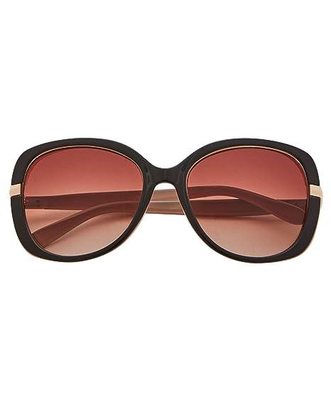 Joe Browns Femme Lunettes de soleil surdimensionnées à monture brune avec  protection anti-UV Rose 06eaec3e2199