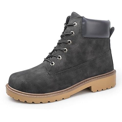 Koly Hombres Botas Primavera Otoño Invierno Hombre Zapatos Sólido PU Zapatos Hombre 3b1059