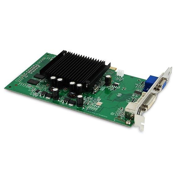Amazon.com: EVGA GeForce 6200 512 MB DDR2 AGP 8 x Tarjeta ...