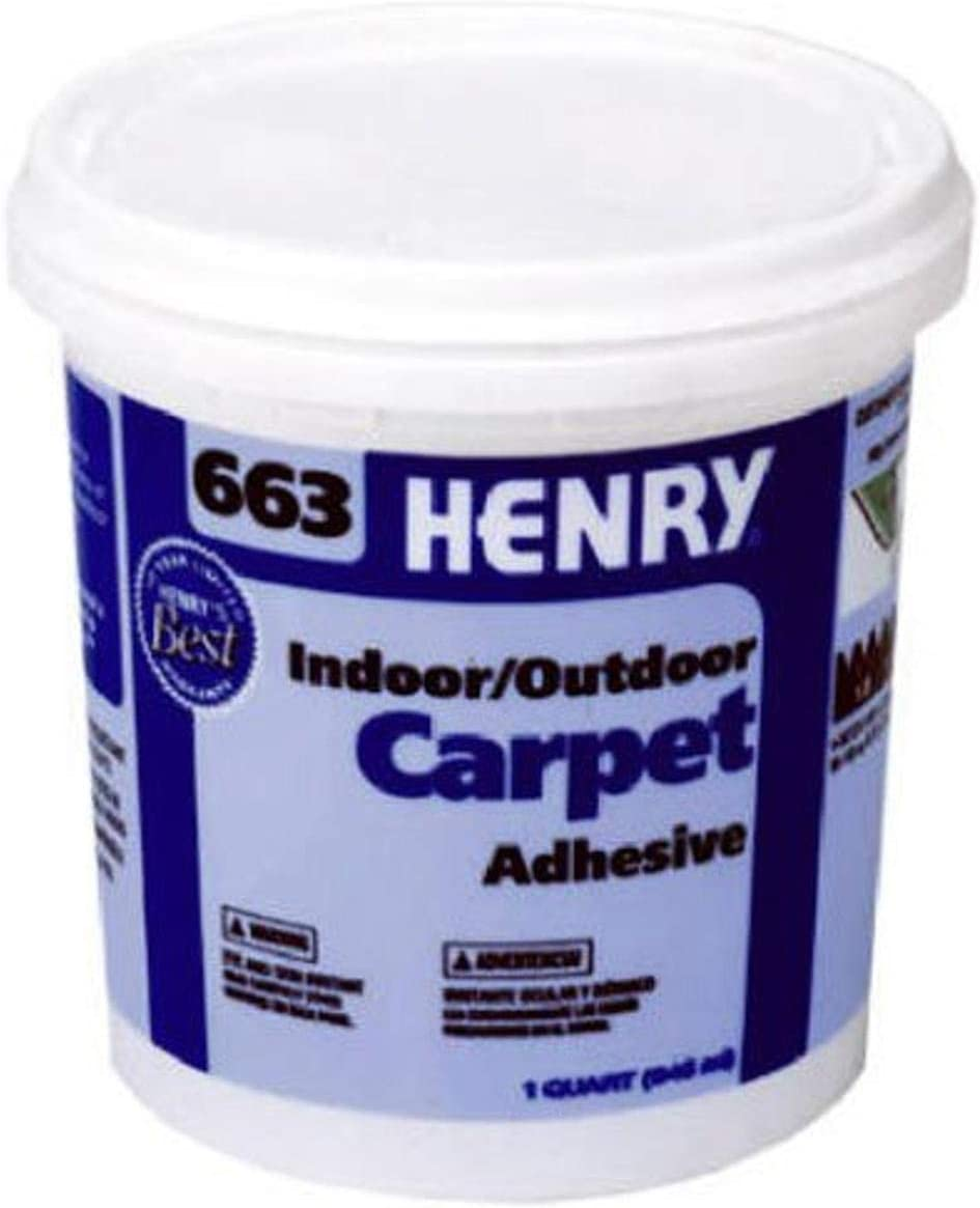 Henry /12183/QT # 663/Carpet Adhesive by Henry WW Company/ W.W Co.