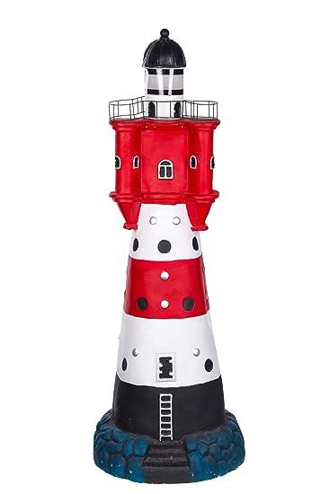 Figur Riesiger Leuchtturm Mit Solarlampe Syb1684 Gross 90 Cm Hoch