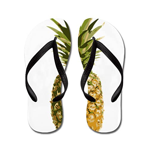 cc00b4f5346db4 CafePress - Pineapple - Flip Flops