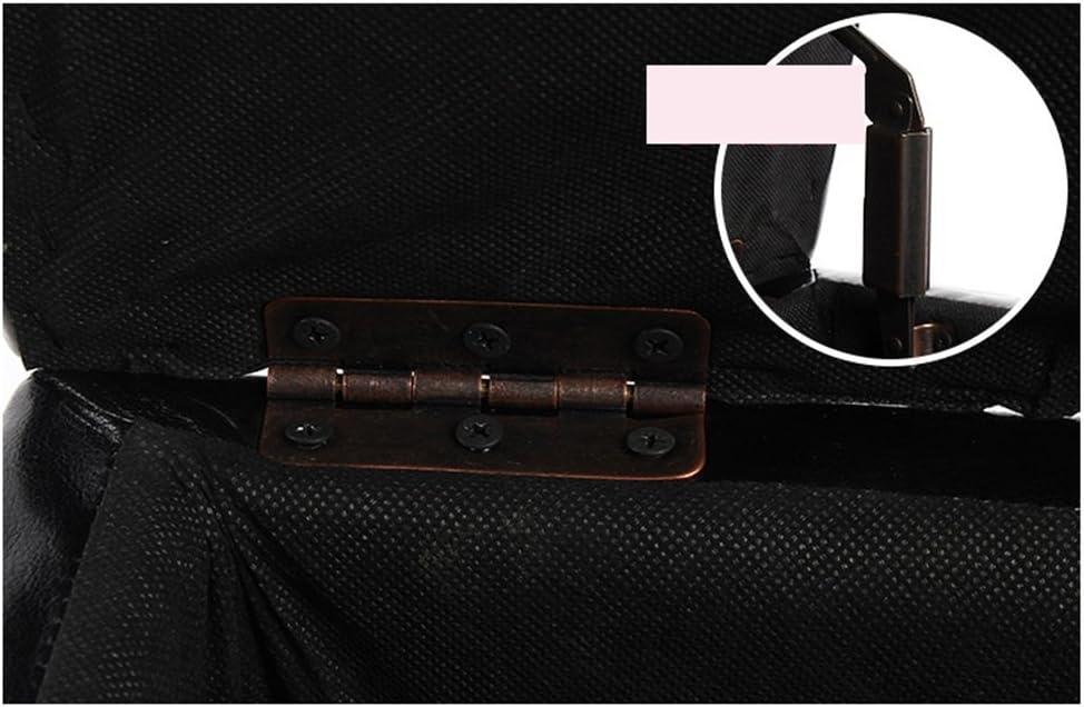 YSNUK Kleiner Hocker Kleiner Lederschemel Moderner minimalistischer Schemel, Multifunktionssofa-Fuß-Schemel-Speicher-Schuh-Bank Osmanen, Lounge, Büro (Color : Purple) White
